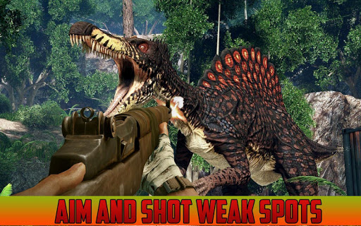 Jungle Dinosaurs Hunting Game - 3D 1.1.7 screenshots 1
