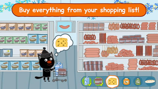 Kid-E-Cats: Grocery Store & Cash Register Games 1.3.1 androidappsheaven.com 2