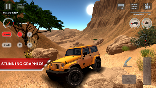 offroad drive desert apkpure