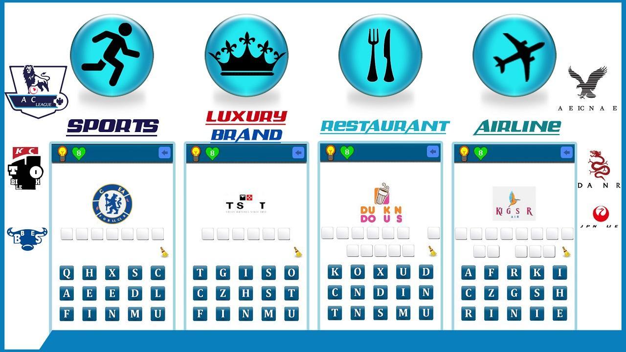Restaurant logos quiz restaurant logo icon quiz by - World Famous Logo Quiz Screenshot