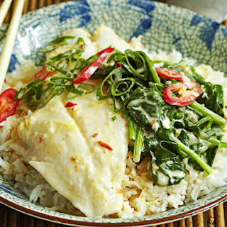Coconut Poached Fish.