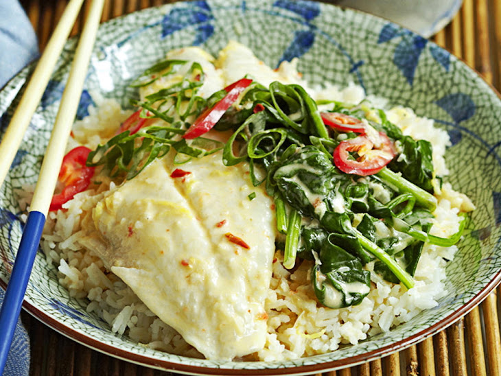 Coconut Poached Fish Recipe