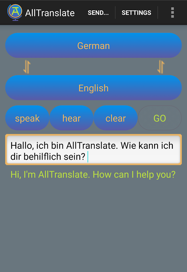 AllTranslate Translator- screenshot
