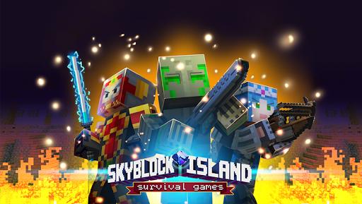 Skyblock Island Survival Games  captures d'écran 1