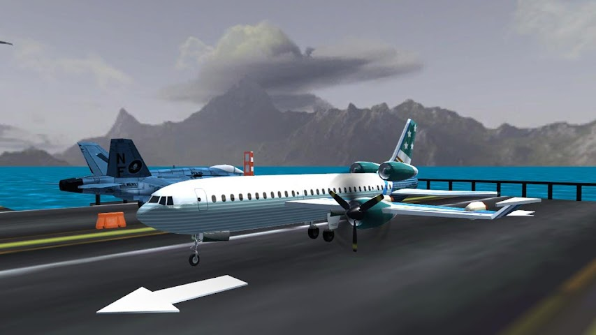 android Airplane Fly Simulator Flight Screenshot 0