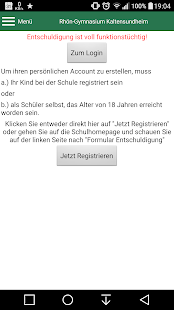 STRG-Schulapp- screenshot thumbnail