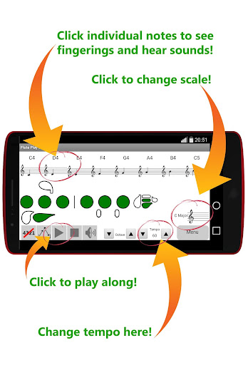 Flute Play Scales Trial