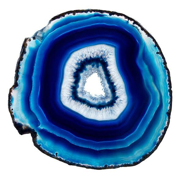 Agatskiva, Blå