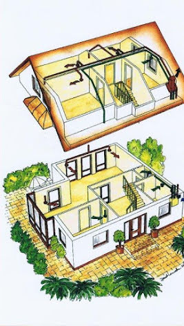 FTX system med byggsats 220-240 m2- 2-plan, utan isolering