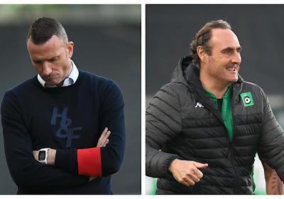 Les deux coachs d'accord sur les tournants de la rencontre entre le Cercle et Waasland-Beveren