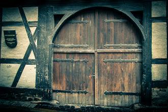 Photo: the gate in Erfurt, Thuringia, Germany  #doorsunday , by +André Roßbach +Dave Krugman #hqspnonnaturephotos  #europeanphotography  #10000photographersaroundtheworld  #thuringia
