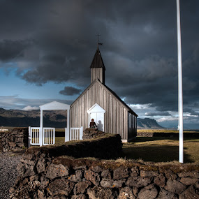 Church by Johann Pall Valdimarsson - Landscapes Weather