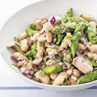 Asparagus, Tuna & White Bean Salad