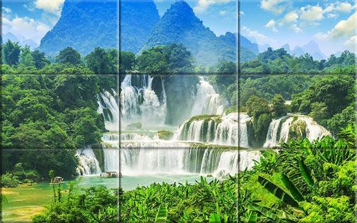 Puzzle - Amazing waterfalls apktram screenshots 2