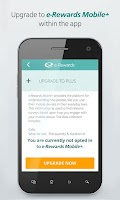 Screenshot of e-Rewards Mobile