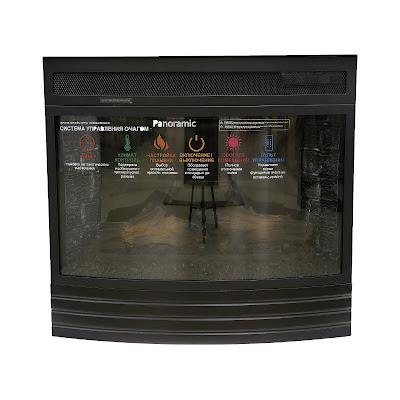 Электрический камин Interflame Panoramic 08-25 LED F/X