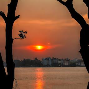 by Amit Baran Sen - Landscapes Sunsets & Sunrises