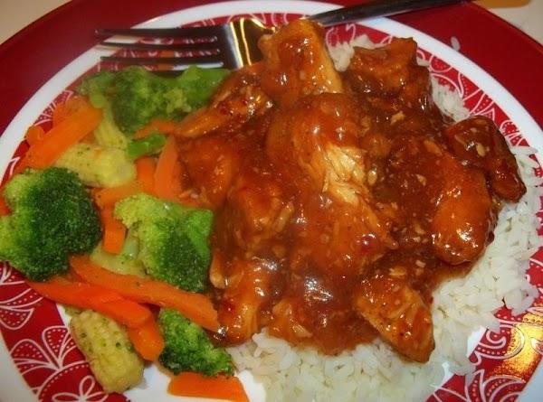 Honey / Garlic Crock Pot Chicken Recipe