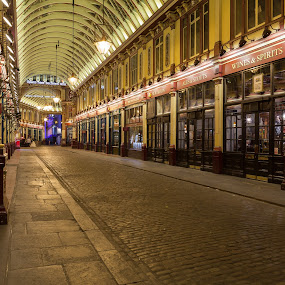 Leadenhall Market - Space here becomes time by Augustin Galatanu - City,  Street & Park  Markets & Shops ( london, street, architecture, leadenhall market, city )