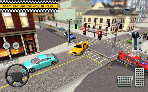 City Taxi Driving simulator: online Cab Games 2020 apkpoly screenshots 3