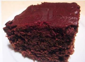 1950  CHOCOLATE  SAUERKRAUT  CAKE (think  coconut)