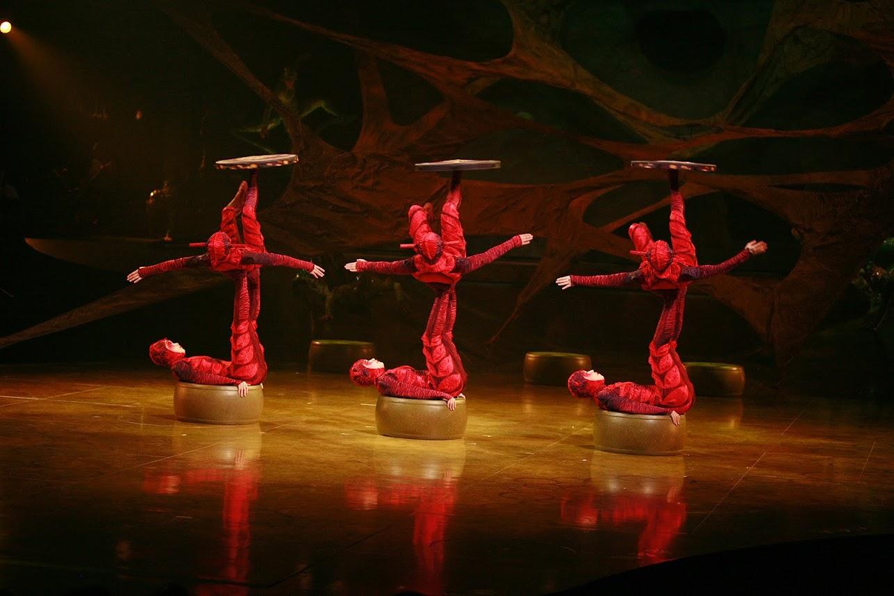Cirque du Soleil Kraków Ovo