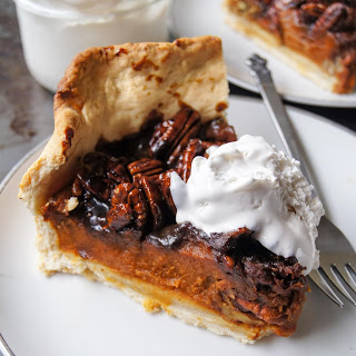 Vegan Pecan Bourbon Pumpkin Pie Recipe
