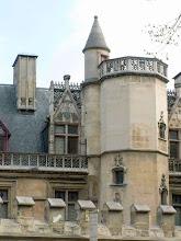 Photo: Hotel de Cluny in Paris.