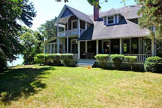 Photo: Quawk Cottage, north lawn.