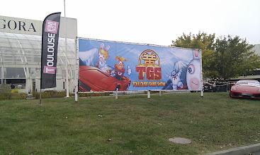 Photo: Arrivée au TGS
