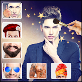 Man make up : Best man photo editor handsome maker