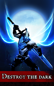 Shadow of Death: Stickman Fighting - Dark Knight game for Android screenshot