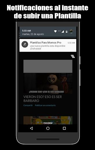Plantillas Para Momos Pro screenshot