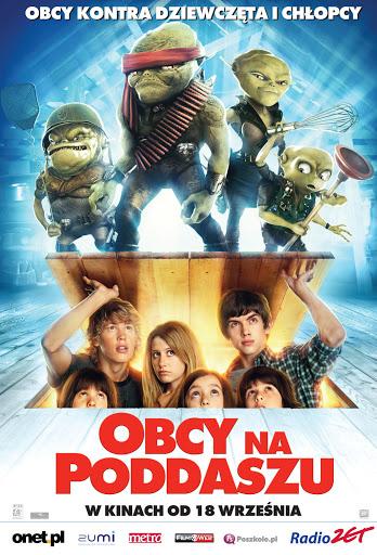 Polski plakat filmu 'Obcy Na Poddaszu'