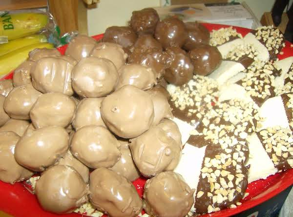 No Bake Peanut Butter Bonbons Recipe