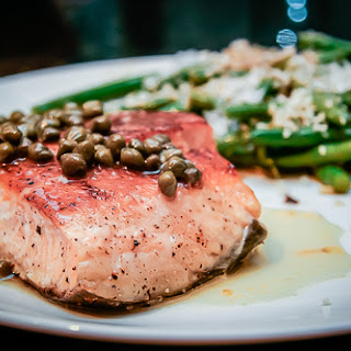 Fish Meuniere with Capers for Dad