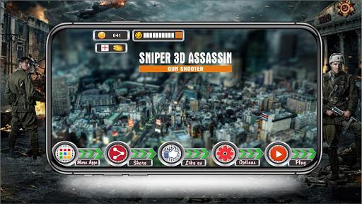 Sniper Assassin 3d: Sharp Shooter 2.0.2 {cheat|hack|gameplay|apk mod|resources generator} 1
