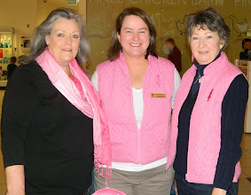 Photo: Raising funds for BCNA at the Pines with Gail and Judy Sammut
