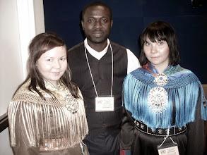 Photo: Williams Patrick Praise Jr & Delegates from the Republic of Finland