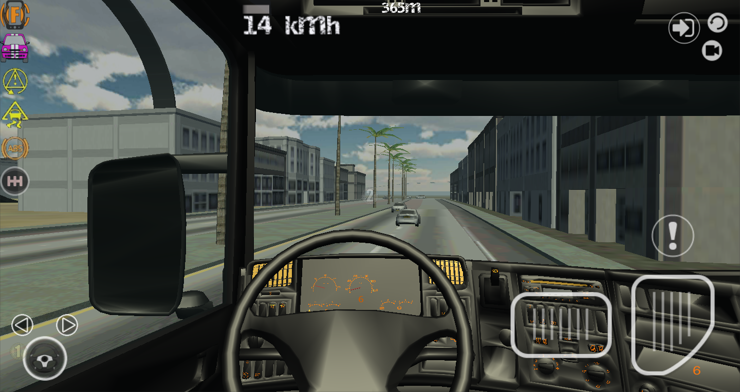 manual car driving simulator game
