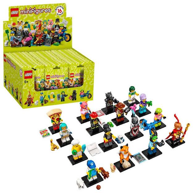 Contenido de Lego® 71025 Caja Completa Sobre Sorpresa Serie 19