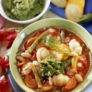 Pesto Soup Bowls