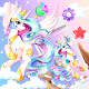 Colorful Celestia Princess Unicorn Theme APK