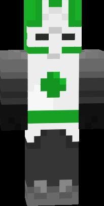 Castle Crashers Green Knight Nova Skin