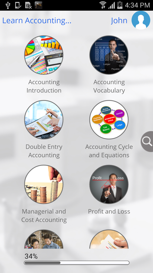 Learn Accounting- screenshot