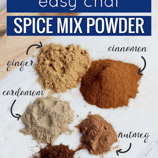 Easy Chai Spice Mix Powder