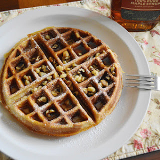 Brown Butter Spiced Belgian Waffles