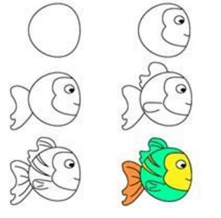 beginners drawing lessons for kids learn how to draw - 314×310