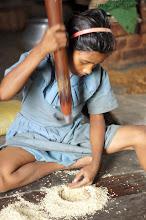 Photo: Making Rice Flower Baliguda Orissa