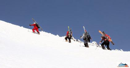 Photo: Let's climb!